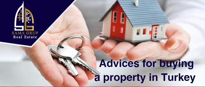 Advices for buying a property in Turkey